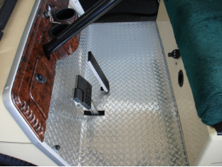 Diamond Golf Cart Floor Mat