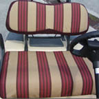 Golf Cart Sunbrella Seat Covers