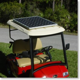 Universal Solar Panel for All Golf Carts