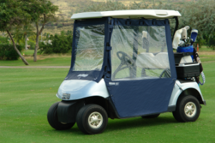 Universal 3 Sided Golf Cart Enclosure